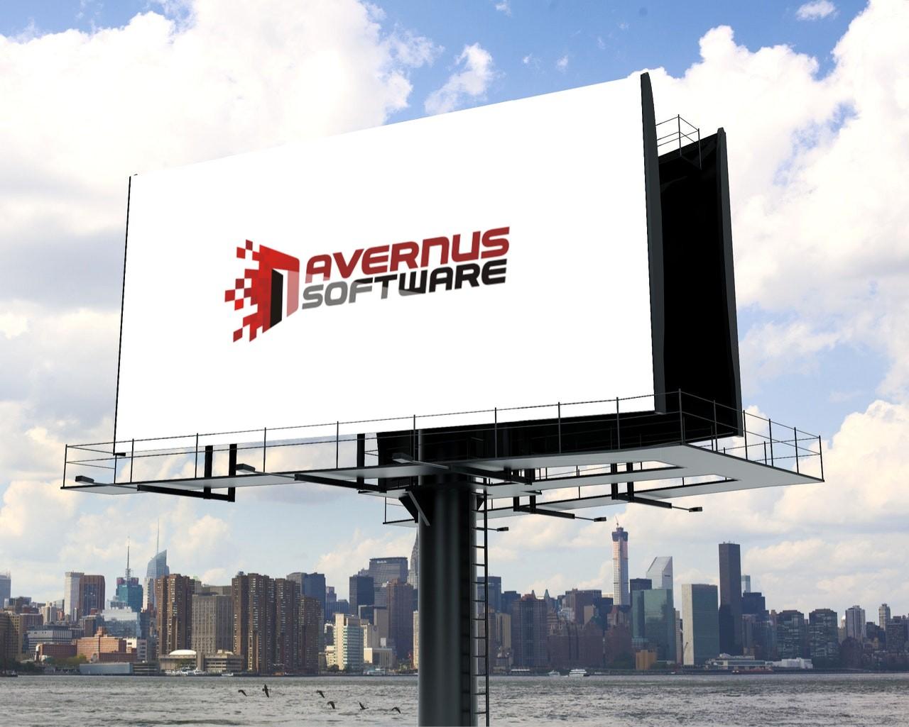 projekt logo dla Avernus Software z Dąbrowy Górniczej.